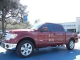 2013 Ruby Red Metallic Ford F150 Lariat SuperCrew #77819382