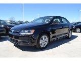 2013 Deep Black Pearl Metallic Volkswagen Jetta Hybrid SEL #77819675