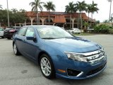 2010 Sport Blue Metallic Ford Fusion SEL #77819370
