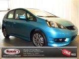 2013 Blue Raspberry Metallic Honda Fit Sport Navigation #77819219