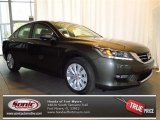 2013 Hematite Metallic Honda Accord EX-L V6 Sedan #77819215