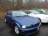 2000 Topaz Blue Metallic BMW 3 Series 328i Coupe #77819506