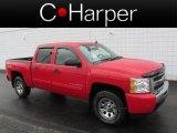 2011 Victory Red Chevrolet Silverado 1500 LS Crew Cab 4x4 #77819959