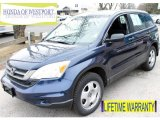 2010 Royal Blue Pearl Honda CR-V LX AWD #77819348