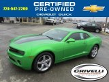 2010 Synergy Green Metallic Chevrolet Camaro LT Coupe Synergy Special Edition #77819797