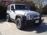 2009 Jeep Wrangler Bright Silver Metallic