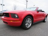 2006 Torch Red Ford Mustang V6 Premium Convertible #77819948