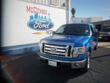 2010 Blue Flame Metallic Ford F150 XLT SuperCrew #77819338