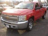 2012 Victory Red Chevrolet Silverado 1500 LS Crew Cab 4x4 #77819186