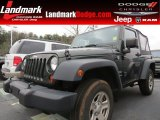 2011 Natural Green Pearl Jeep Wrangler Sport 4x4 #77819463