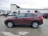 2013 Basque Red Pearl II Honda CR-V EX-L AWD #77819932