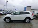 2013 White Diamond Pearl Honda CR-V EX AWD #77819927