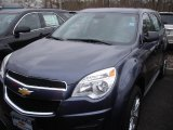 2013 Atlantis Blue Metallic Chevrolet Equinox LS #77819140