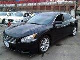 2010 Crimson Black Nissan Maxima 3.5 S #77819625