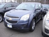 2013 Atlantis Blue Metallic Chevrolet Equinox LS #77819132