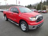 2010 Radiant Red Toyota Tundra Double Cab 4x4 #77819913