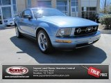 2006 Vista Blue Metallic Ford Mustang V6 Premium Coupe #77819902