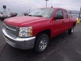 2013 Victory Red Chevrolet Silverado 1500 LS Extended Cab #77819741