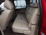 2013 Chevrolet Silverado 1500 LTZ Crew Cab 4x4 Rear Seat