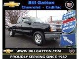 2004 Black Chevrolet Silverado 1500 Z71 Extended Cab 4x4 #77820024