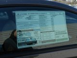 2013 Hyundai Genesis Coupe 2.0T Premium Window Sticker