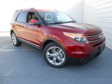 2013 Ruby Red Metallic Ford Explorer Limited #77819571