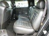 2006 Hummer H2 SUV Rear Seat