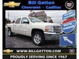 2013 White Diamond Tricoat Chevrolet Silverado 1500 LT Crew Cab 4x4 #77892326