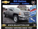 2013 Graystone Metallic Chevrolet Silverado 1500 LT Extended Cab 4x4 #77892324