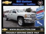 2013 Silver Ice Metallic Chevrolet Silverado 1500 LT Crew Cab 4x4 #77892322