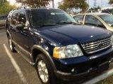Dark Blue Pearl Metallic Ford Explorer in 2004