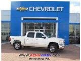 2013 White Diamond Tricoat Chevrolet Silverado 1500 LT Crew Cab 4x4 #77892245