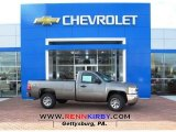 2013 Graystone Metallic Chevrolet Silverado 1500 LS Regular Cab 4x4 #77892243