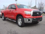 2011 Radiant Red Toyota Tundra TRD Double Cab 4x4 #77892034
