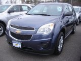 2013 Atlantis Blue Metallic Chevrolet Equinox LS AWD #77891978