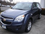 2013 Atlantis Blue Metallic Chevrolet Equinox LS #77891977