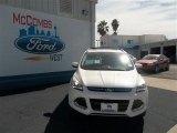 2013 White Platinum Metallic Tri-Coat Ford Escape Titanium 2.0L EcoBoost #77892085