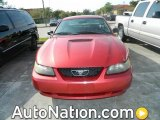 2001 Laser Red Metallic Ford Mustang V6 Coupe #77919515