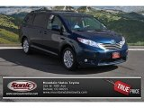 2011 South Pacific Blue Pearl Toyota Sienna XLE AWD #77919495