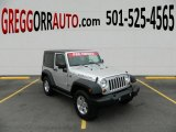 2010 Bright Silver Metallic Jeep Wrangler Rubicon 4x4 #77924458