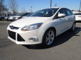 2012 Oxford White Ford Focus SEL 5-Door #77924526