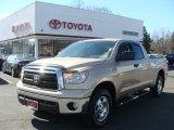 2010 Sandy Beach Metallic Toyota Tundra TRD Double Cab 4x4 #77924583