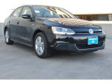 2013 Deep Black Pearl Metallic Volkswagen Jetta Hybrid SEL #77924664