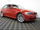 2011 Vermillion Red Metallic BMW 3 Series 328i xDrive Sedan #77924514