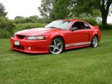 2002 Torch Red Ford Mustang Roush Stage 3 Coupe #77924503