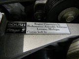 2002 Ford Mustang Roush Stage 3 Coupe Info Tag