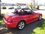 2002 BMW Z3 Bright Red