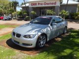 2009 Titanium Silver Metallic BMW 3 Series 335i Convertible #77924703