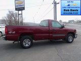 2004 Sport Red Metallic Chevrolet Silverado 1500 LS Regular Cab 4x4 #77924279