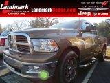 2011 Saddle Brown Pearl Dodge Ram 1500 Big Horn Quad Cab #77924335